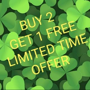 BUY 2 GET 1 FREE LIMITED TIME OFFER